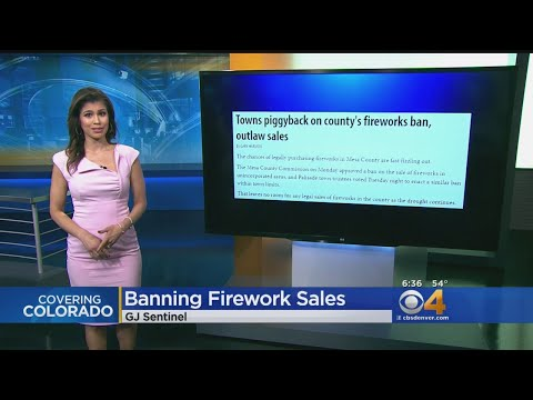 More Towns Ban Sale Of Fireworks