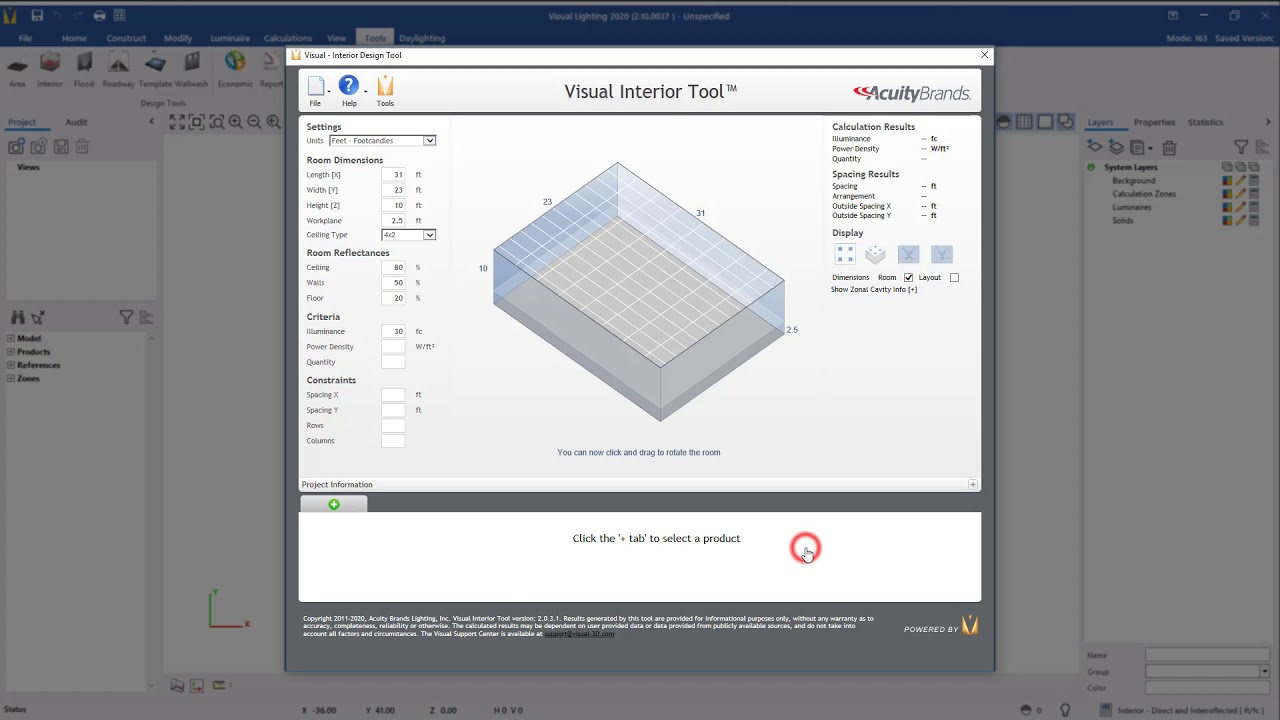visual lighting software lighting