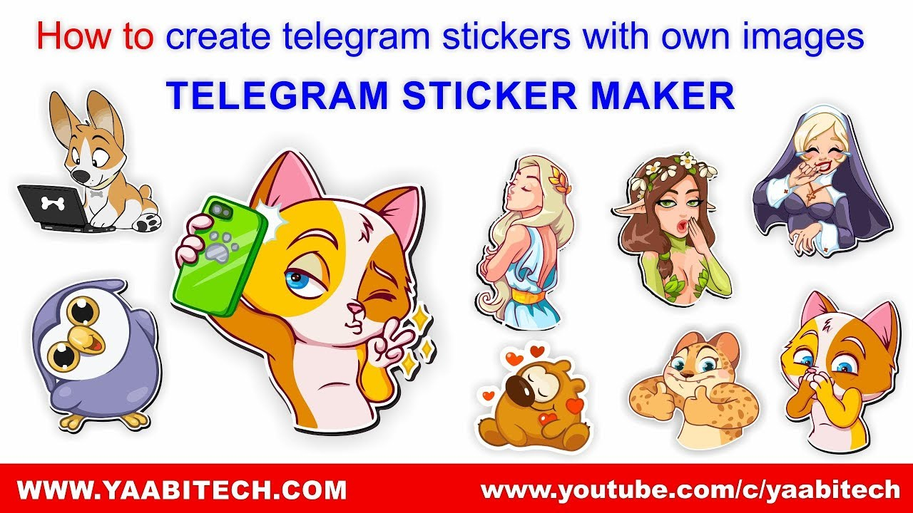 How to create telegram stickers with own images | TELEGRAM STICKER