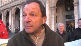 Caccia - Protesta dei Cacciatori a Genova
