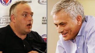 Jose Mourinho SHOCKS wannabe football managers! 😱