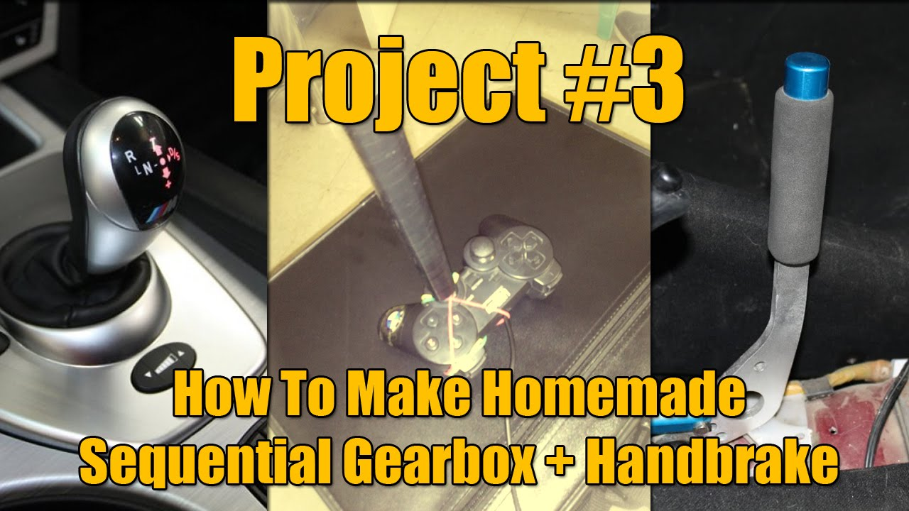 how to make a gearbox at home