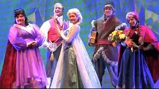 FULL Frozen Fun sing-along Disneyland stage show with Anna, Elsa, Kristoff