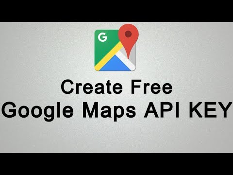How To Create Google Maps API KEY For Free
