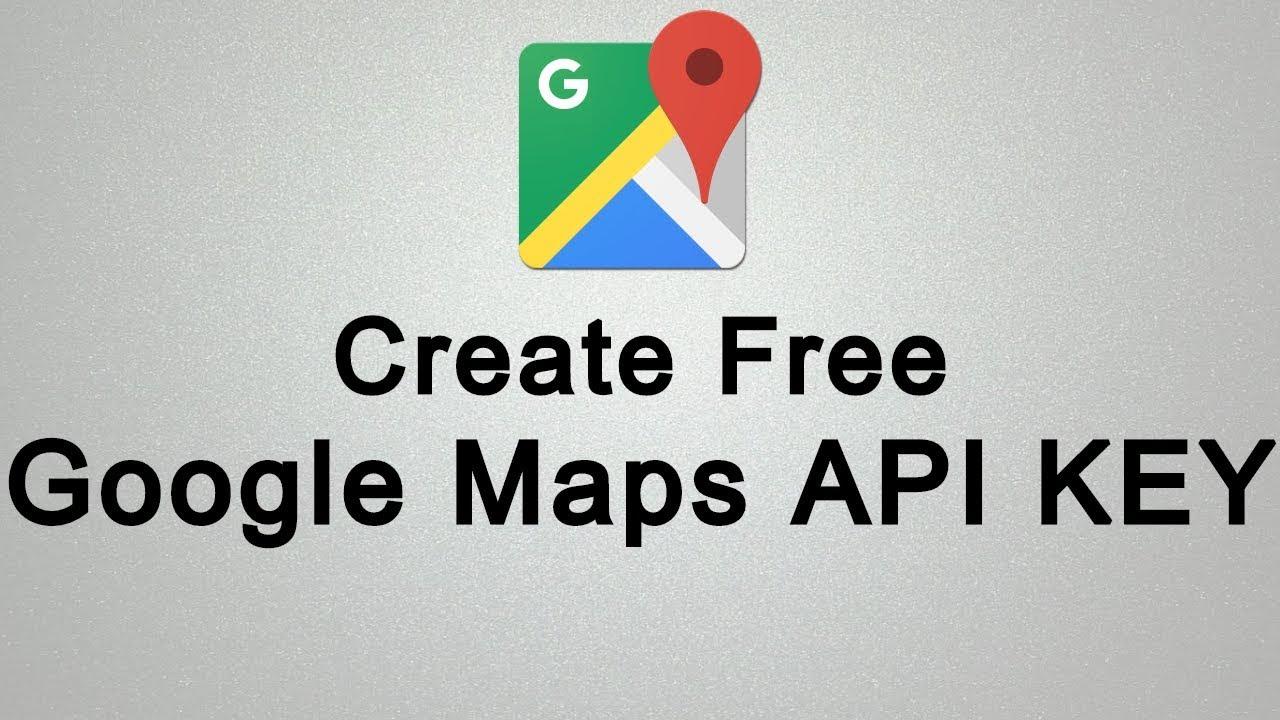 How to Create Google Maps API KEY for Free