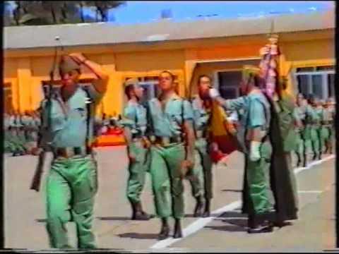 6 DE 7).LA LEGION, JURA DE BANDERA 1/92, V Bandera, Tercio Duque de ...