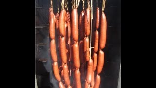 Smoked Venison Wieners - Hot Dogs