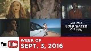 Top 10 Songs - Week Of September 3, 2016 (YouTube)