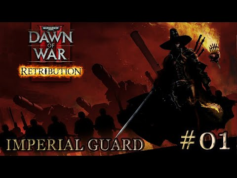 Dawn Of War 2: Retribution. Mission 1 - (Ladon Swamplands). Imperial Guard. (Very Hard)