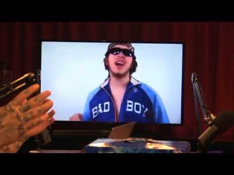 Post Malone reacts to Pre Malone (Leon Dechino)