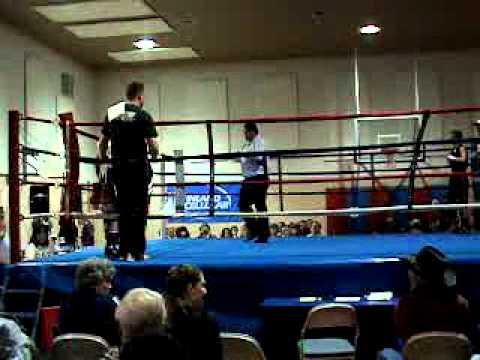 Zanes 1st Boxing Match