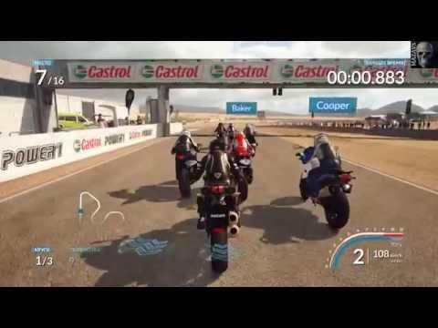Лучшие игры про гонки на мотоциклах - мотогонки на PC