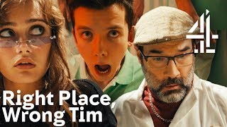 Sitcom Parody with Asa Butterfield, Adam Buxton, Ella Purnell | Right Place, Wrong Tim | Random Acts