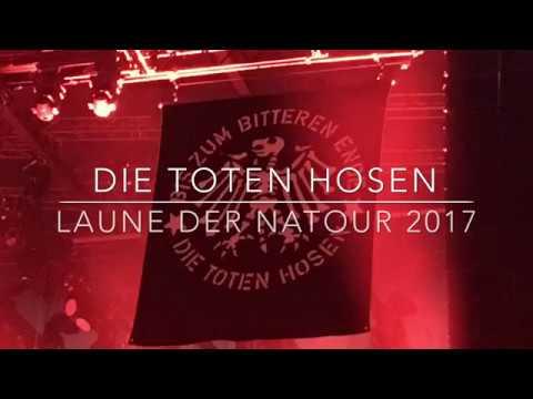 DIE TOTEN HOSEN-LAUNE DER NATOUR 2017- LIVE 15.12.2017 BERLIN  MAX-SCHMELING-HALLE