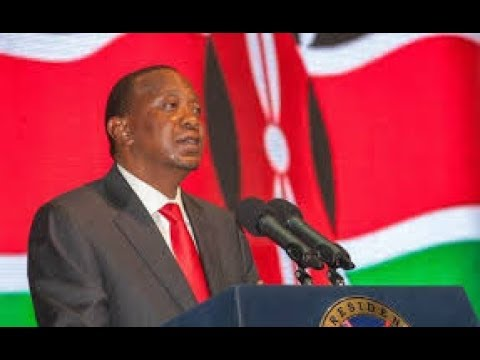 President Uhuru Kenyatta  eulogizes The Late CS Nkaissery