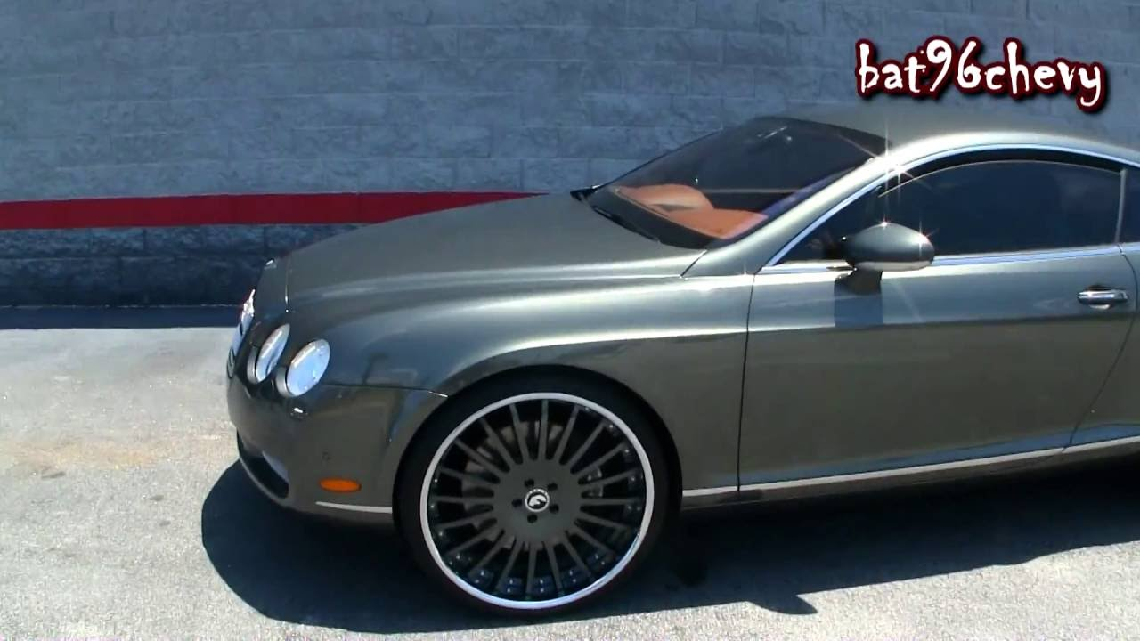 Ultimate audio 05 bentley continental gt on 24 forgiato wheels ultimate audio 05 bentley continental gt on 24 forgiato wheels 1080p hd youtube sciox Images