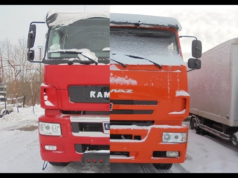 Самосвалы КАМАЗ-6520-43 и КАМАЗ-6520-43 Люкс
