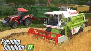Żniwa owsa - Farming Simulator 17 (Górale V5) | #2