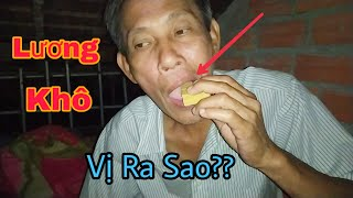 Ăn Thử Lương Khô Đồ Ăn Lính Việt Nam - NCVLOGS