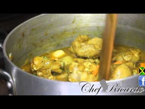 One Of The Best Caribbean Curry Chicken Recipe | Recipes By Chef Ricardo