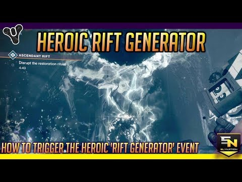 Destiny 2 | Dreaming City Public Events- Heroic Rift Generator