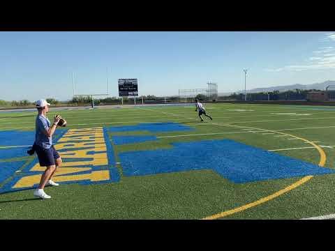 "Peyton Pelletier | QB 21' | 6'1"" 190lb | Measurements and Throws | Ironwood Ridge High School"