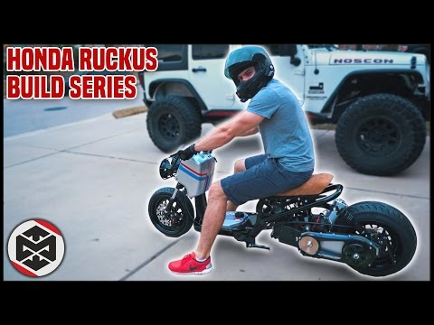 FIRST RIDE on a 150cc GY6 HONDA RUCKUS!!
