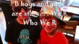 Download We R Who We R mattyB version with lyrics MP3 song and Music Video