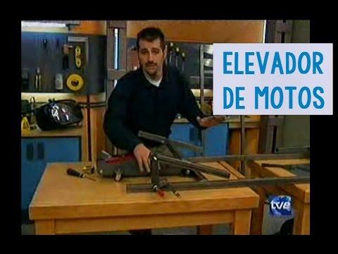 Mesa elevadora para motos elevador artsenal  YouTube