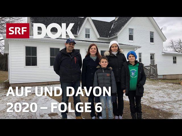 Schweizer Auswanderer | Uruguay, Kanada, Norddeutschland | Auf und davon 2020 (6/7) | Doku | SRF DOK
