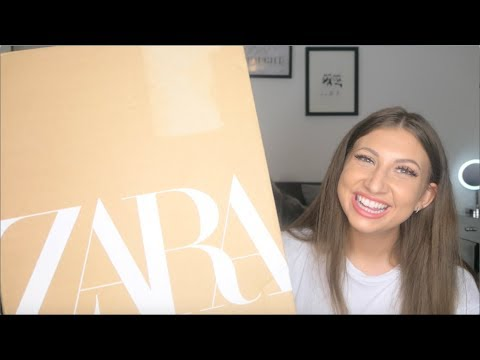 [VIDEO] - ZARA LITTLE BLACK DRESS TRY ON HAUL FOR AUTUM / WINTER 2019 | KATIE FRANCIS 8