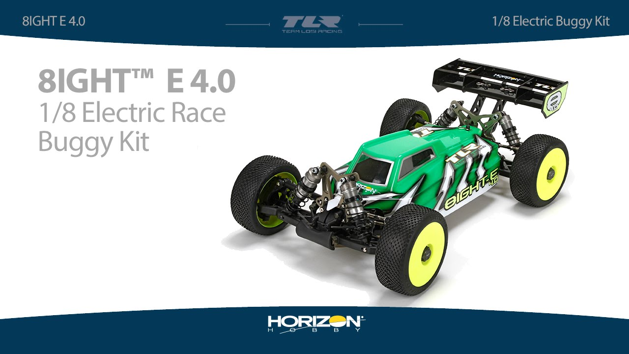 Team Losi Racing 1/8 8IGHT-E™ 4.0 4WD Electric Buggy Kit