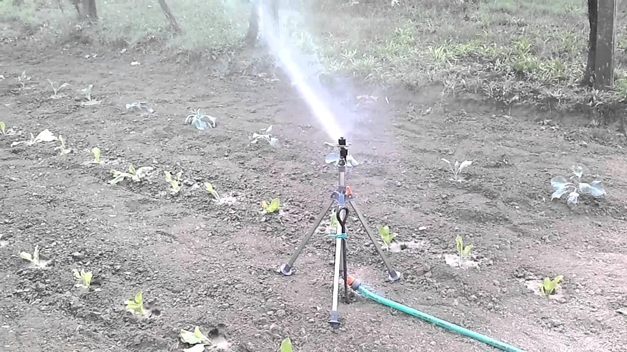 irrigazione orto 2011 youtube