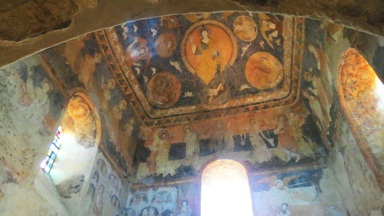 Aiguilhe - Les Fresques De La Chapelle Saint-michel