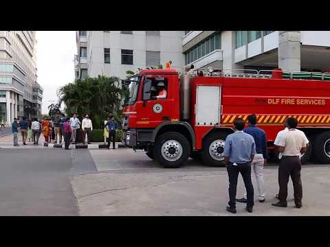 DLF Cyber City Fire Rescue | Mercedes Benz Extreme Fire Truck with Advanced Technology | Chennai