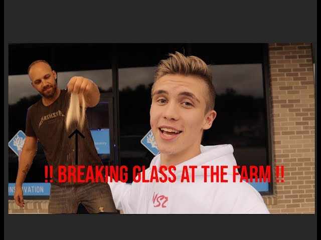 BUILDING a CORAL FARM pt.2 (Breaking GLASS) 😱