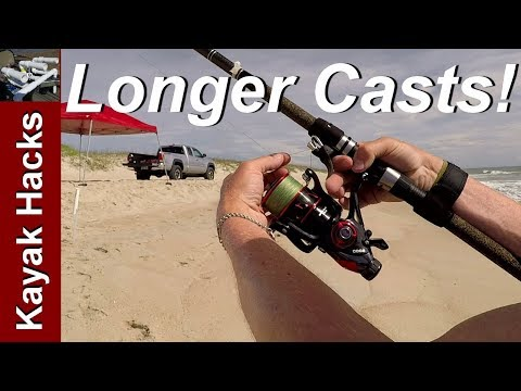 Surf Fishing Casting Tips - Breakaway Cannon Casting Aid