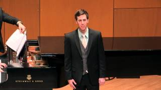 """Two Songs on American Poems"" (Lauridsen) performed by James Conrad Smith"