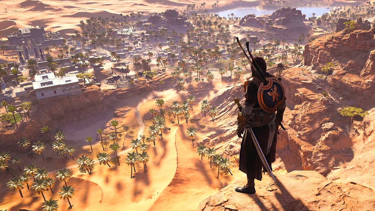 Assassin S Creed Origins Persian Assassin Stealth Master Dual