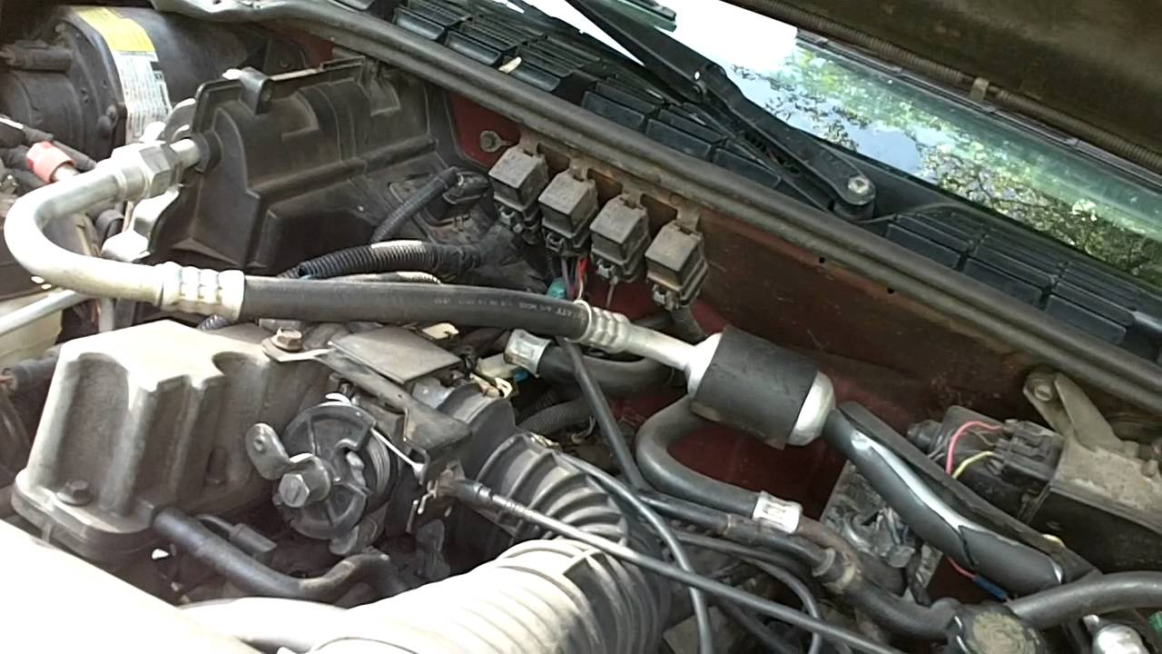 Chevy 2 Engine Diagram Baldor Wiring 115 230 How To Replace Plug Wires Coils In 95 S10 Liter Youtube