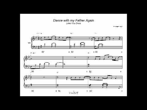 Dance With My Father Again Piano Solo Youtube