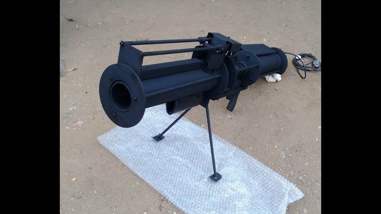 Tennis Ball Cannon Machine Gun One Of Its Kind Youtube
