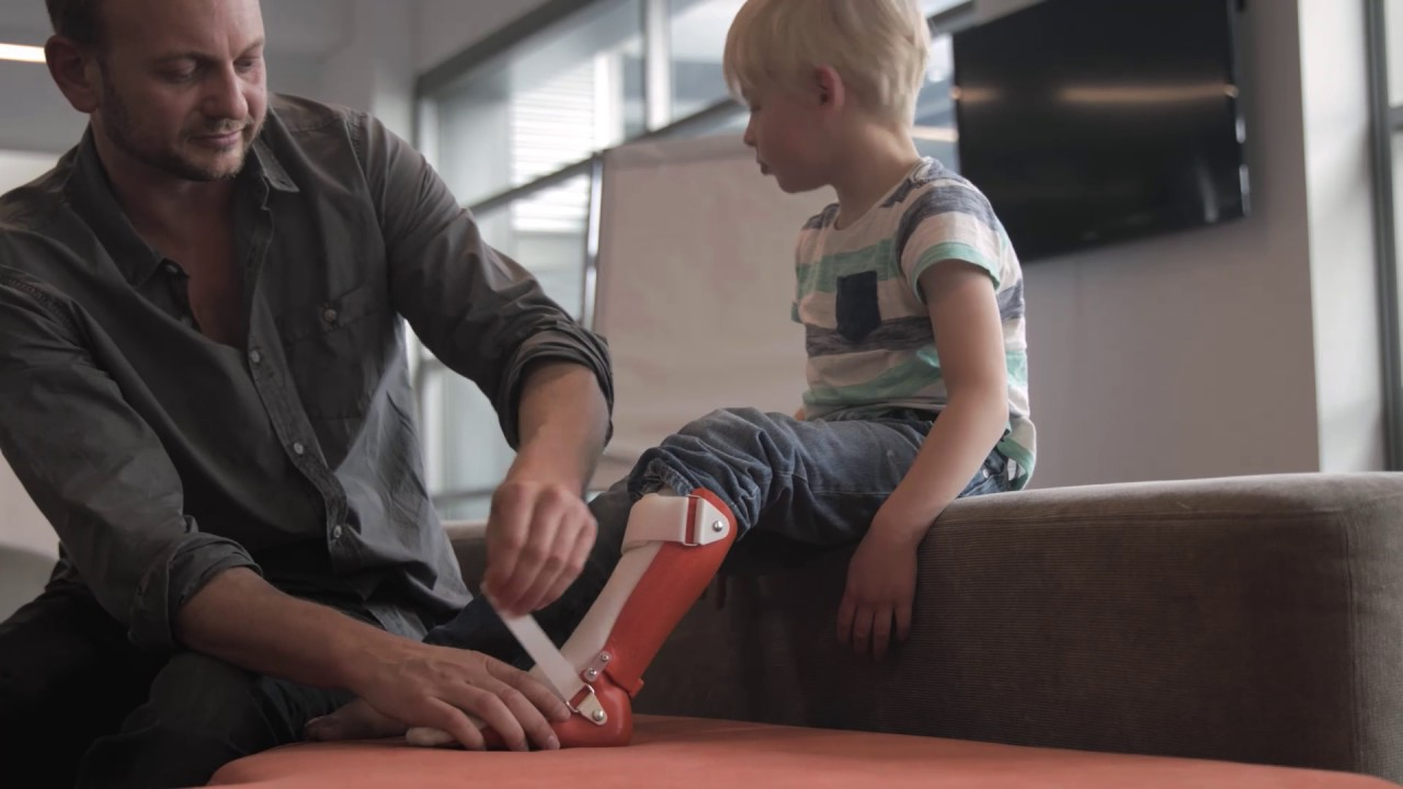 Magic Shoes: Life Changing, 3D Printed Posture and Mobility Equipment for Children with Disabilities