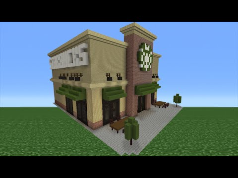 Minecraft Tutorial: How To Make A Starbucks