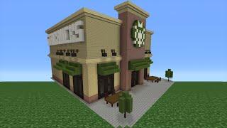 Minecraft Tutorial: How To Make A Starbucks