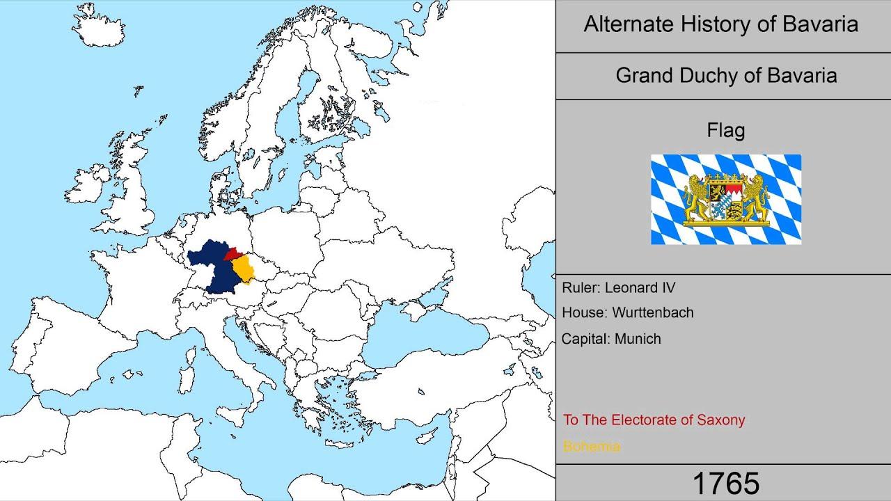 Alternate History of Bavaria 1500 2015 YouTube