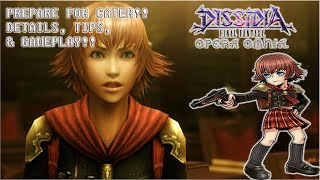 Dissidia Final Fantasy: Opera Omnia PREPARE FOR CATER!! DETAILS, TIPS, & GAMEPLAY!!