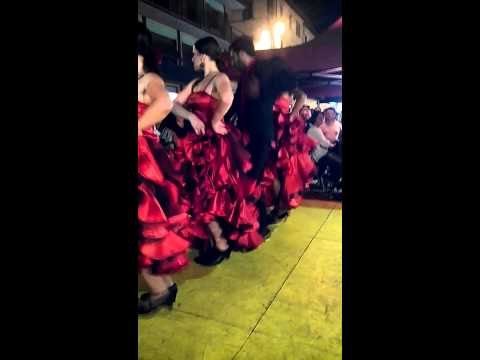 Flamenco at Arezzo international food festival