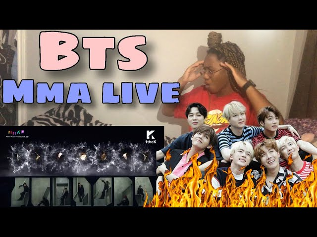 Bts Mma Melon Music Awards 2018 Performance Reaction Love Yourself Airplane Pt 2 Idol