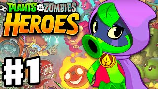 Video Plants vs. Zombies: Heroes - Gameplay Walkthrough Part 1 - Green Shadow Hero & Intro! (iOS, Android) download MP3, 3GP, MP4, WEBM, AVI, FLV April 2018